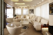 Superyacht E&amp;E Main salon